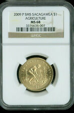2009-P SMS SACAGAWEA DOLLAR AGRICULTURE NGC MS68 DEAL