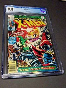 X-men #105 CGC Graded 9.8 White Pages Phoenix Cockrum Claremont 1977 Beautiful!