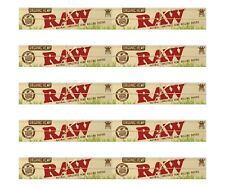 10 Packs Raw Organic King Size Slim Natural Unrefined Rolling Papers