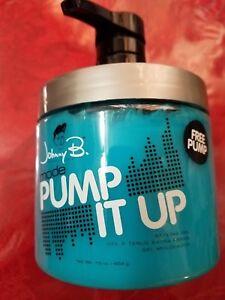 Johnny B Gel Mode Pump it Up 16 oz Styling Gel Rare  Rare