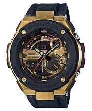 Casio G-Shock G-STEEL * GST200CP-9A Gold Steel Metal Crystal Resin Ivanandsophia