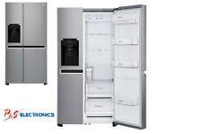 LG 668L Side by Side Fridge with Non Plumbed Ice & Water Dispenser_GS-L668PNL