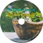 61 Books on DVD, Ultimate Library on Herbs Herbal Herbalism, Remedies, Medicine