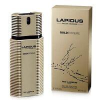 Ted Lapidus pour Homme Gold Extreme Eau de Toilette 100ml +1 Échantillon