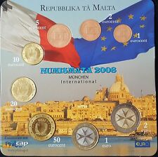 "MDS MALTA EURO KMS 2008 ""NUMISMATA MÜNCHEN 2008"""