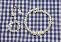 "Classic Pearl Jewelry Set 14K for 18-22"" Vintage Fashion Doll Miss Revlon Cissy"