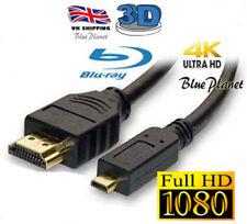Micro HDMI Cable Para Samsung Cámara WB5500A Conectar Con TV
