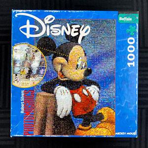 Buffalo Games Photomosaics 2009 Disney Mickey Mouse 1000 Piece Jigsaw Puzzle