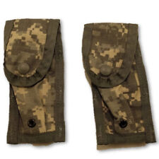 New 9mm Mag Pouch ACU Army 2 pack - MOLLE II  -  Single Mag - USGI