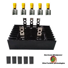 Rectifier Three Phase for AC Wind Turbine Generator Heavy 100A Spade Terminals