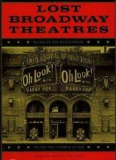 Lost Broadway Theatres, Nicholas van Hoogstraten, Acceptable Book