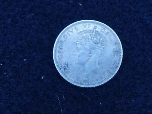 BS-76: CANADA New Foundland, silver 10 cents dated 1942 C