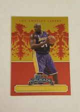 2014-15 Panini Excalibur Shaquille O'Neal Red Crusade Prizm /99