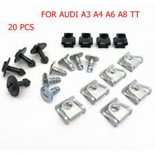 Audi Engine Undertray & Underbody Shield Clips & Fasteners Kit A3, A4, A6, A8 TT