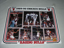 VINTAGE CHICAGO BULLS RAGING POSTER MICHAEL JORDAN OSCO DRUG KODAK 1990 NBA 23 >