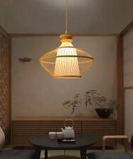 Luces de techo Lámparas Lámpara Colgante Rústico De Bambú Oriental Japonés Asiático