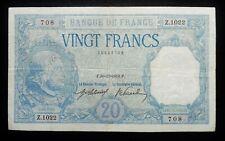 """20 Francs  """"Bayard"""" - 30 novembre 1916"""