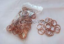 50 piezas anillos de Cobre Junta CU 16x20x1, 5mm DIN 7603 Formulario A