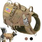 Tactical Dog No Pull Pet Harness Vest For Medium Large Dogs