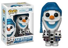 Funko - POP Disney: Olaf's Frozen Adventure - Olaf w/ cats Brand New In Box
