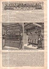 1889 Scientific American Supp August 3 - Vaccination illustrations; Mt. Pilatus;