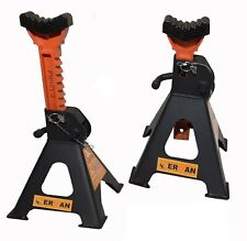 SUPPORTS STICKS CAR STANDS 3 TONES CAPACITY Basics Steel Jack Auto Stands ERMAN