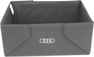 New Genuine Audi Interior Cargo Trunk Organizer Box 8U0061109