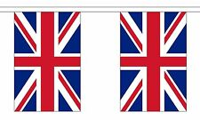 UNION JACK 18m metre BUNTING 60 feet 30 flags flag GREAT BRITAIN BRITISH UK