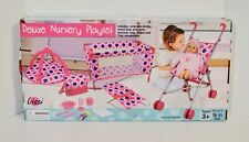 Lissi Deluxe Nursery Play Set Brand New
