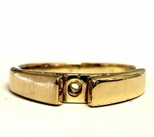14k yellow gold womens cathedral engagement ring semi mounting setting 4.3g