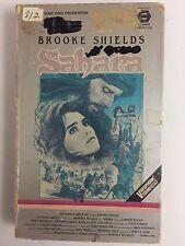 SAHARA 1983 VHS Brooke Shields Big Box MGM/UA Home Video