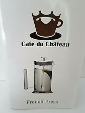 Cafe Du Chateau French Press Coffee Maker 1000 ml