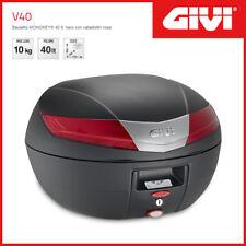 Coffre / Valise Givi Monokey V40 Universel - Noir/Catadioptres Rouges