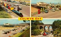 Conwy Colwyn Bay Multiview Postcard (Harvey Barton, no. K6328) 1960s