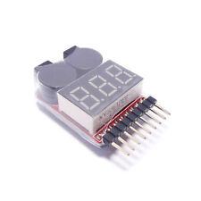 Testeur pour Accu, Batterie LIPO Alarme 1S-8S Cell Checker, RC Indispensable!