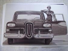 1958 FORD EDSEL BURMUDA SW  11 X 17  PHOTO  PICTURE