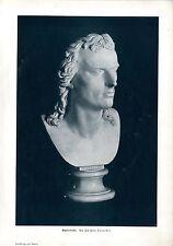 Schiller buste du Württembergischen sculpteur Johann Heinrich von Dannecker 1905