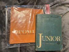 Girl Scout Handbook Brownie And Junior 1963 Vintage