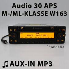 MERCEDES AUDIO 30 APS Aux-in w163 sistema di navigazione M ML Classe Radio Navigazione