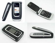 New Condition Nokia 6131 -PHONE ONLY  Black (Unlocked) Mobile Phone Flip Fold