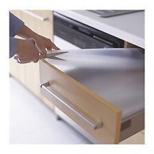 IKEA VARIERA Non-slip Plastic Drawer Mat Cupboard Shelf Liner 150x50cm in Clear