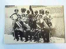 CARTOLINA POSTCARD Sampeyre (CN) Val Varaita Piemonte - festa Abbadia 1930