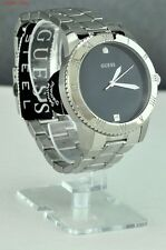 NWT Limited Pristine Watch GUESS Green Silver Stainless Steel New U0416G1 Fresh