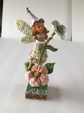 Jim Shore #4014977 Smell The Flowers 2009 Statue