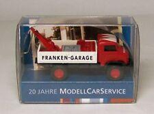 """Wiking Sondermodell: Unimog S 404 CARRO ATTREZZI """"""""franken-garage"""""""""""