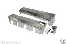 LS VALVE COVER COIL COVERS GM CHEVY CHEVROLET FABRICATED ALUMINMUM