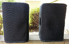 PEAVEY Impulse 12D Premium Padded Black Covers - (2)  Quantity of 1 = 1 Pair!