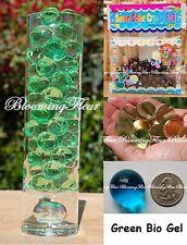 24 packs - Green - Bio Gel Crystal Water Beads Mud wedding vase decoration