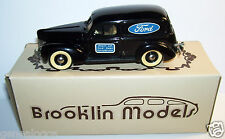 RARE BROOKLIN FORD SEDAN DELIVERY 1940 O'NEILL LTD FORD SERVICE REF 9N IN BOX