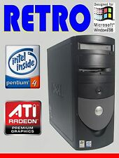 VINTAGE Windows 98 SE DOS GAMING COMPUTER PC LAPTOP CNC MACHINING EMBROIDERY COA
